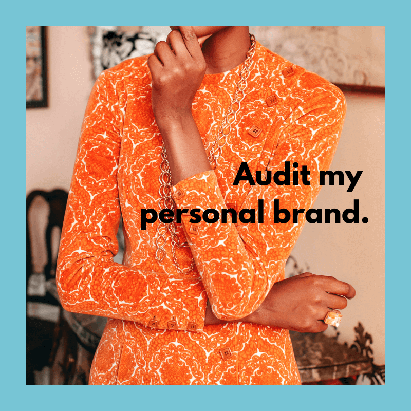 Personal Brand Audit Service