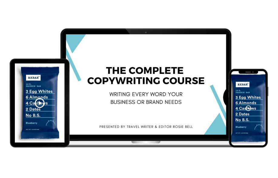 The Complete Copywriting Course: Writing Every Word Your Business or Brand Needs